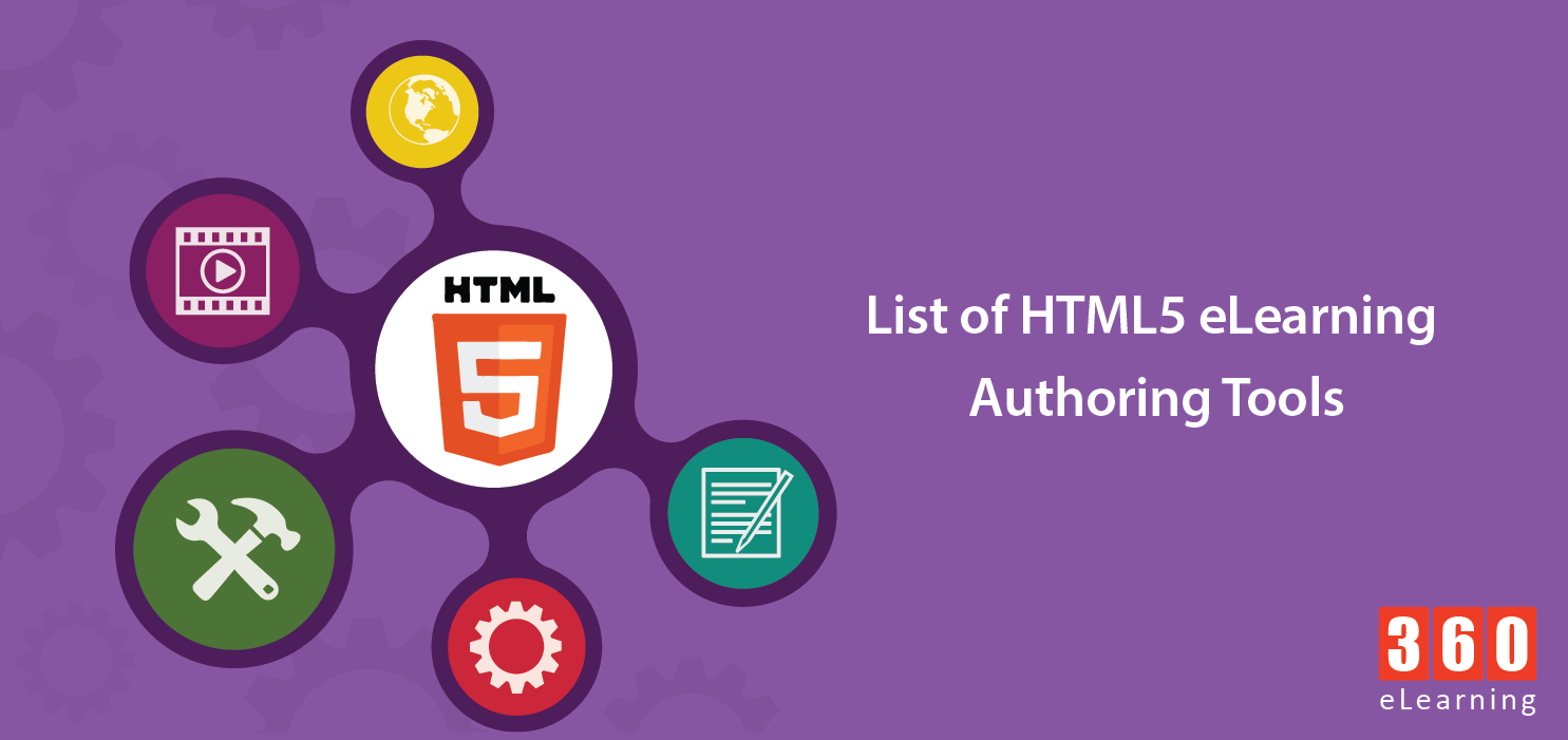 list of html5 elearning authoring tools